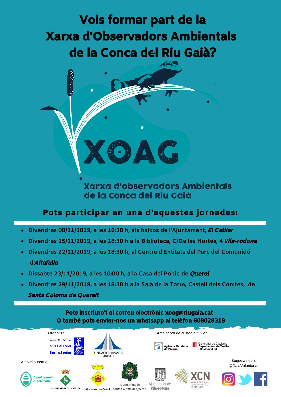 XARXA D'OBSERVADORS AMBIENTALS DE LA CONCA DEL RIU GAIÀ